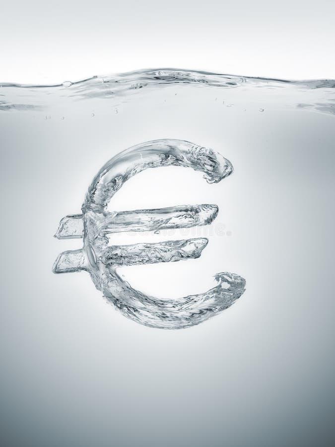 Europese economische bel royalty-vrije stock foto