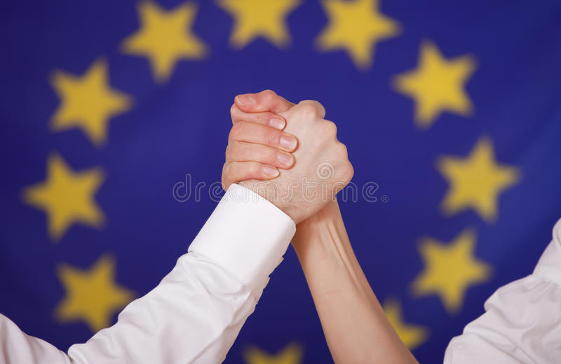 Europese macht stock foto