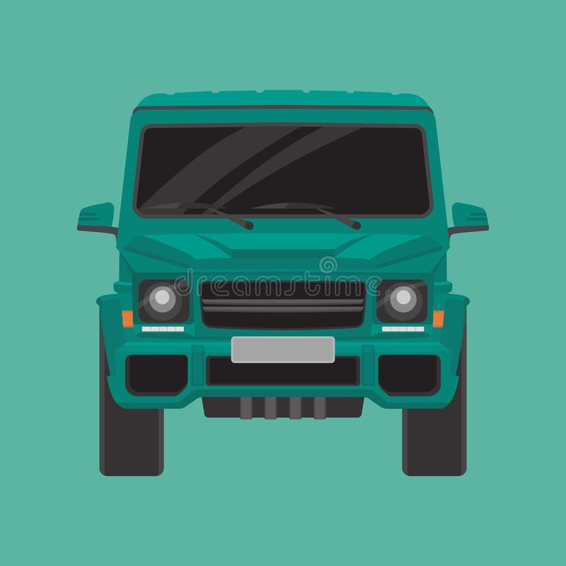 Europese Offroad Auto royalty-vrije illustratie