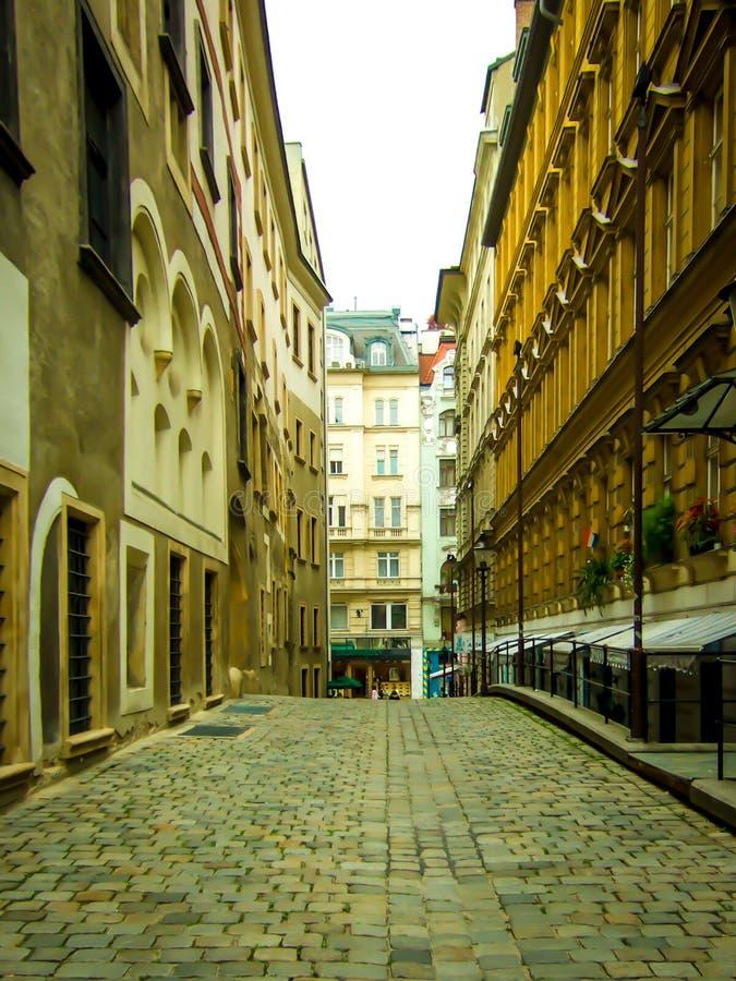 Europese Straat royalty-vrije stock afbeeldingen