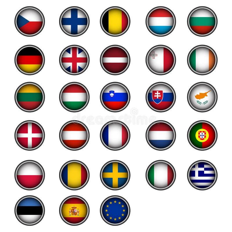 Europese Unie stock illustratie