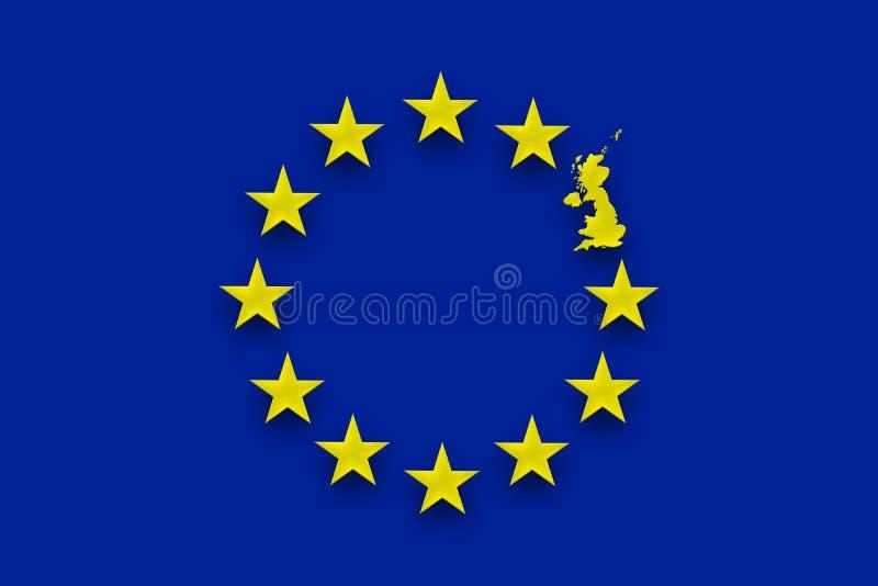 Europese Unie Brits referendum stock afbeeldingen