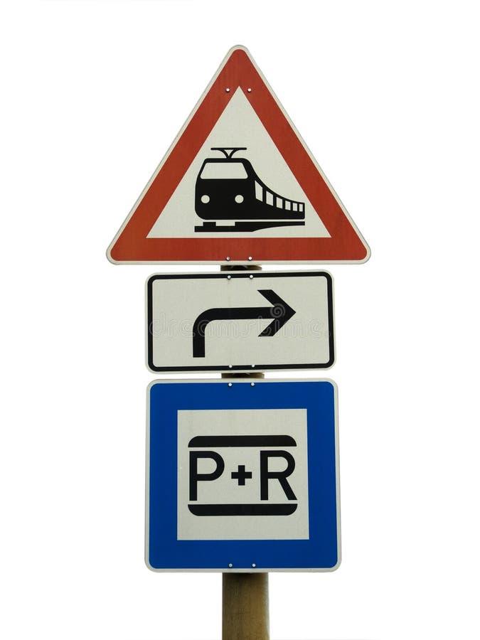 Europese verkeersteken stock afbeelding