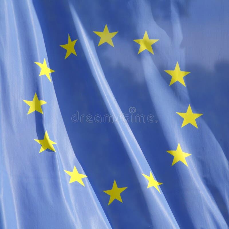 Europese vlag royalty-vrije stock afbeeldingen