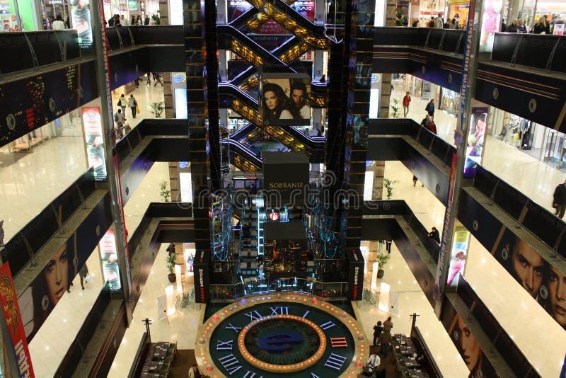 EUROPEU do centro de compra em Moscovo imagens de stock royalty free