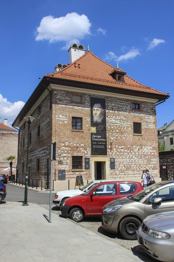 Europeum - europäische Kultur-Mitte in Krakau lizenzfreies stockbild