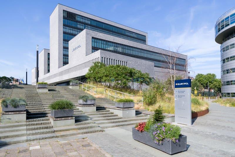 europol Hague lokuje holandie obraz royalty free