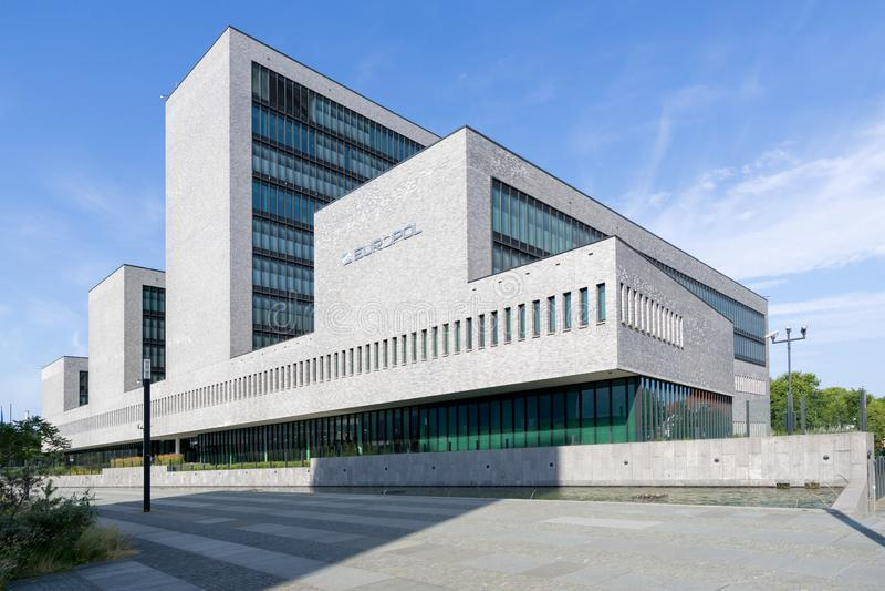 europol Hague lokuje holandie obrazy royalty free