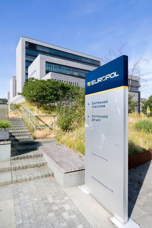 europol Hague lokuje holandie zdjęcie stock