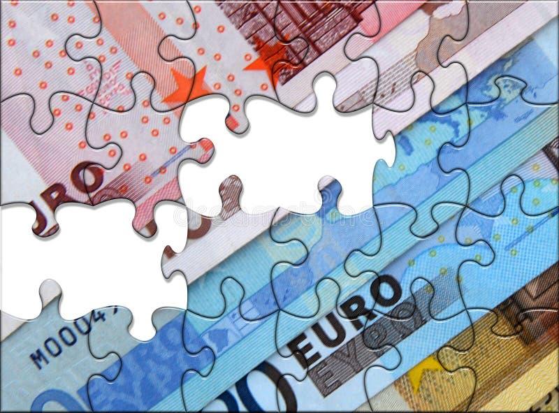 Europuzzlespiel stock abbildung