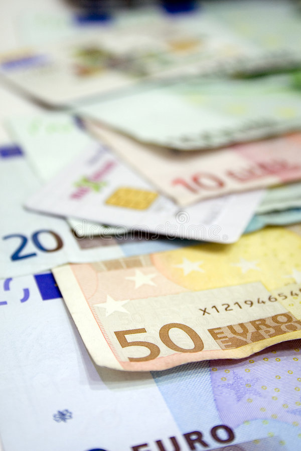 Download Eurorechnungen U. Kreditkarte 1 Stockbild - Bild von gemeinschaft, abschluß: 857485