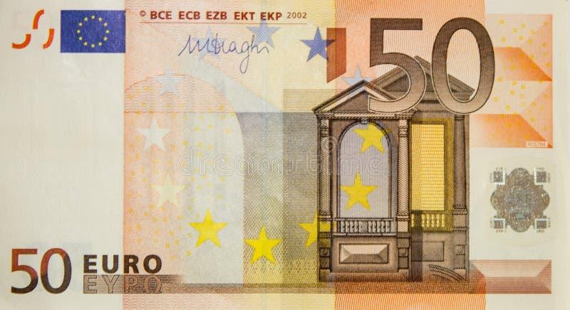50 euros fotos de archivo