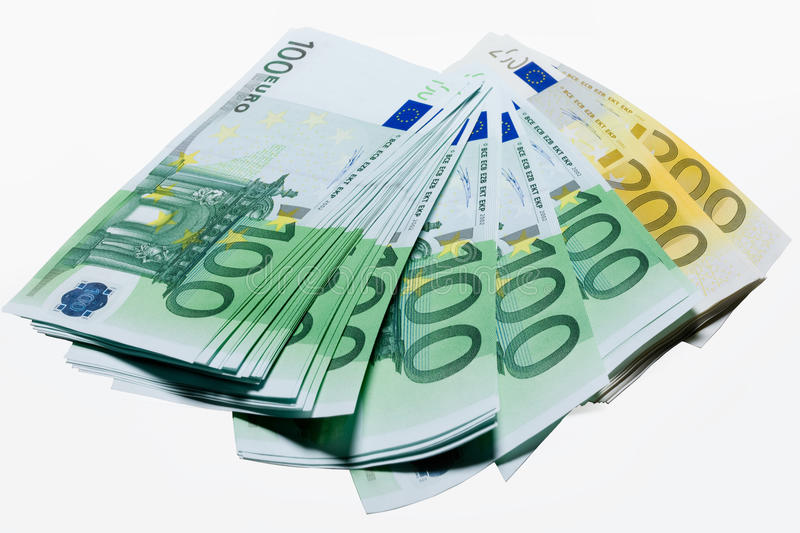Download Euros stock image. Image of crunch, isolated, coin, fine - 12365553
