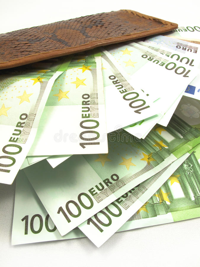 Euros imagen de archivo libre de regalías