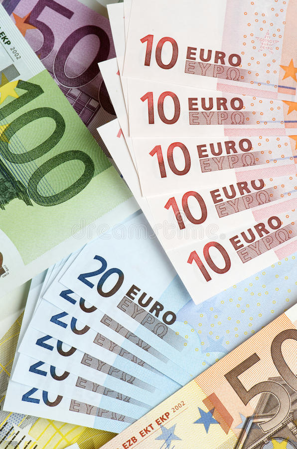 Download Euros stock photo. Image of paper, banknote, diverse - 20195162