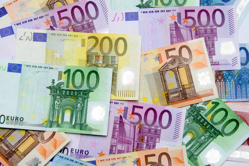 Download Euros stock photo. Image of banknote, financial, money - 4045102