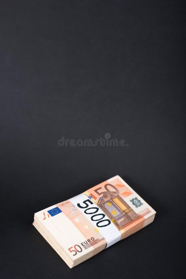 5000 Euros stockbilder