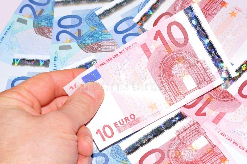 10 Euros stock photo