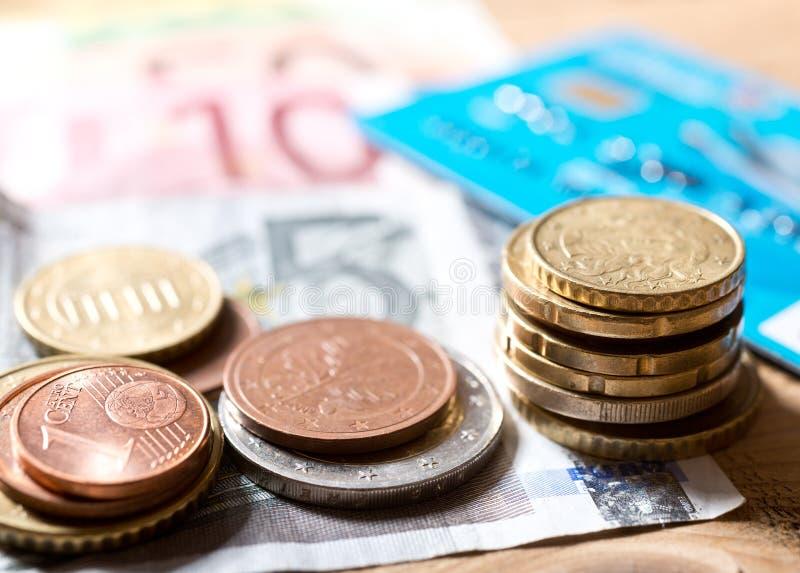 Euros Money fotos de archivo libres de regalías
