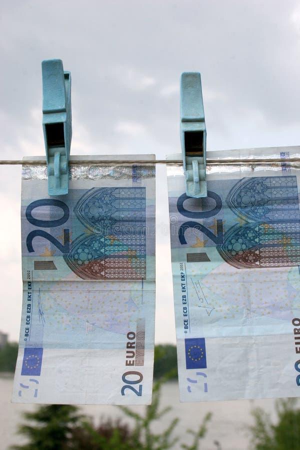 euros tjugo arkivbilder