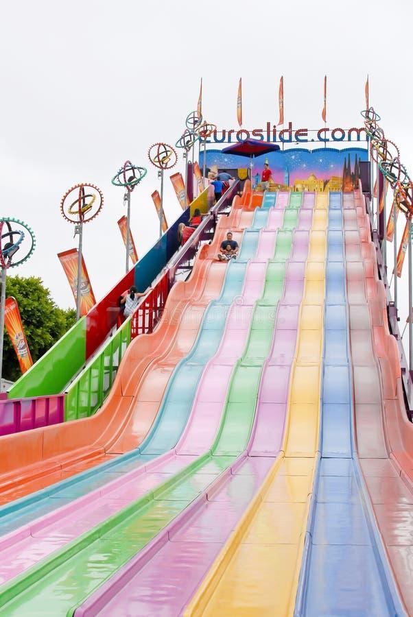 Download EuroSlide Attraction editorial stock photo. Image of california - 21320183