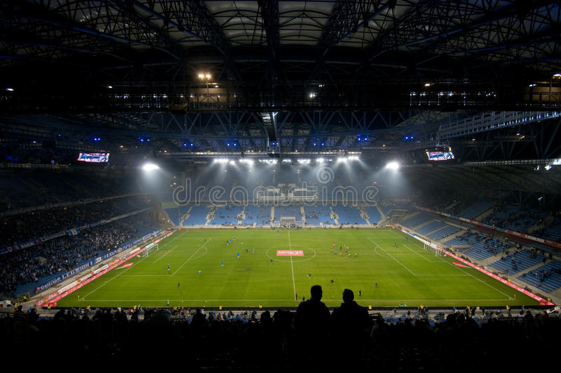 Eurostadion 2012. Poznan, Polen stockfotografie