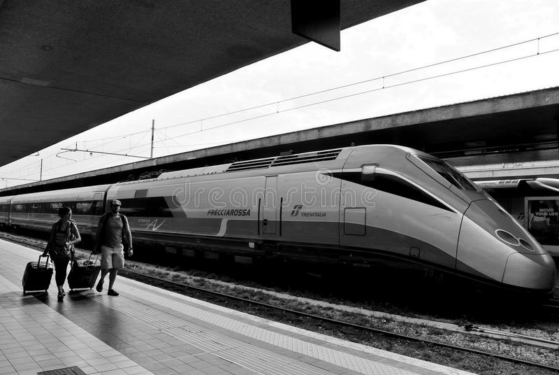 Eurostar utbildar royaltyfri bild