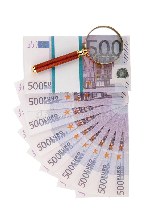 eurosventilatorloupe arkivbild