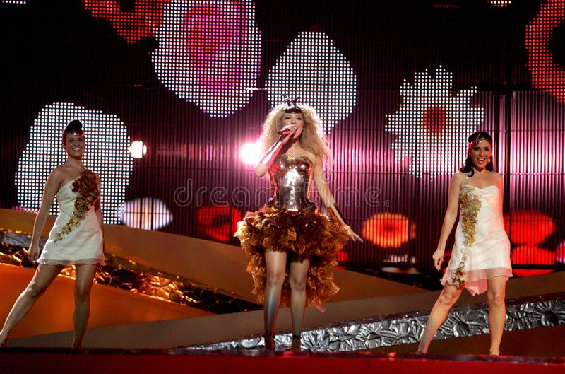 Eurovision Andorra fotos de stock royalty free