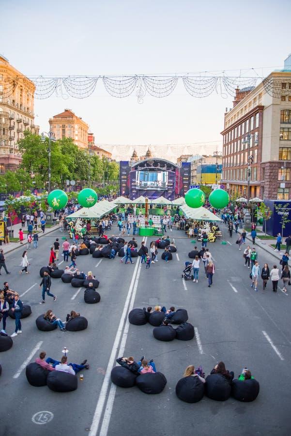 Eurovision, Kiev, 2017 royalty free stock photos