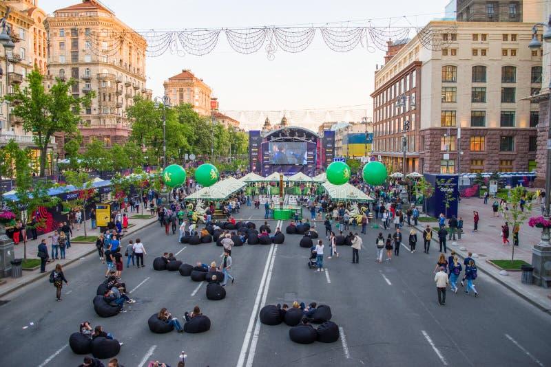 Eurovision,Kiev,2017 stock photo