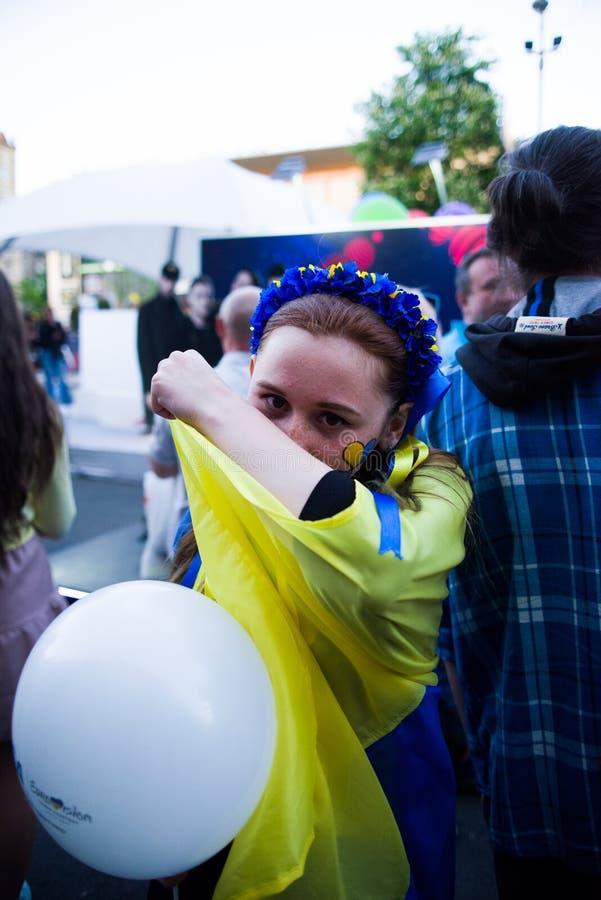 Eurovision,Kiev,2017 royalty free stock images