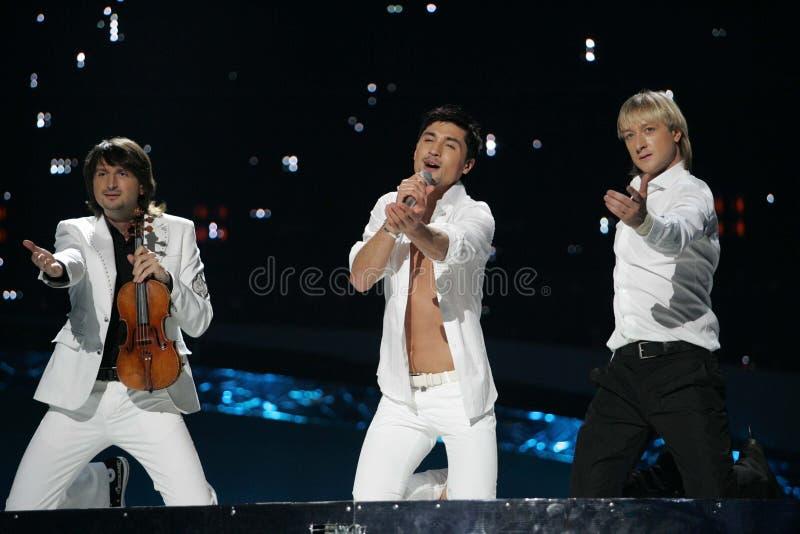 Eurovision-Sieger, Russland, DIma stockbild