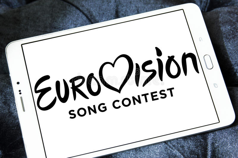 Eurovision Song Contest logo stock image