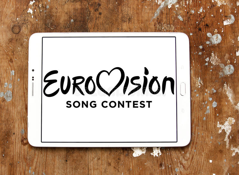 Eurovision Song Contest logo royalty free stock photography