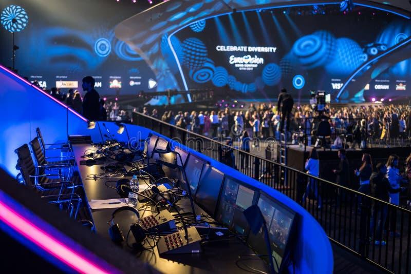 Eurovision 2017 in Ukraine royalty free stock image