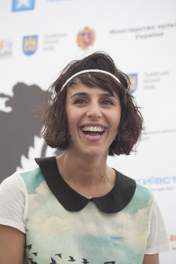 2016 Eurovision winner Jamala (Ukraine) royalty free stock photo