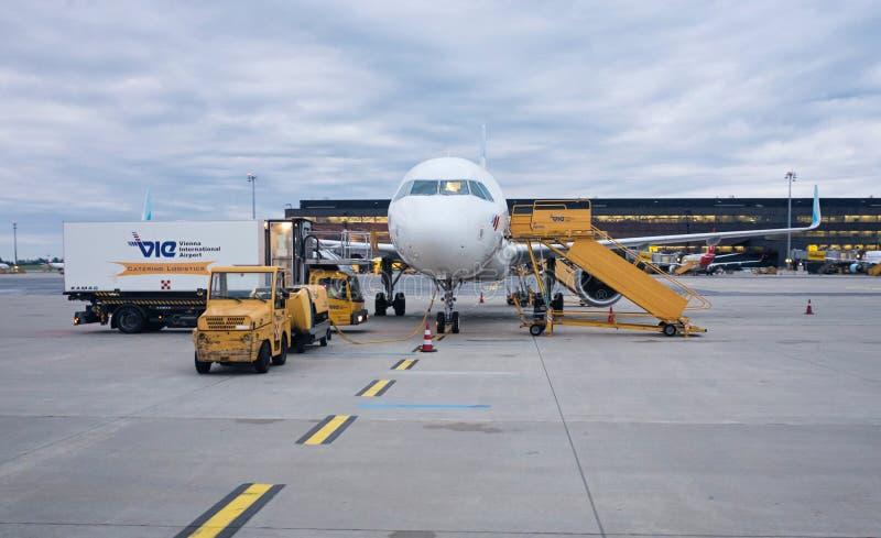 Eurowings空中客车A320-200 免版税库存照片