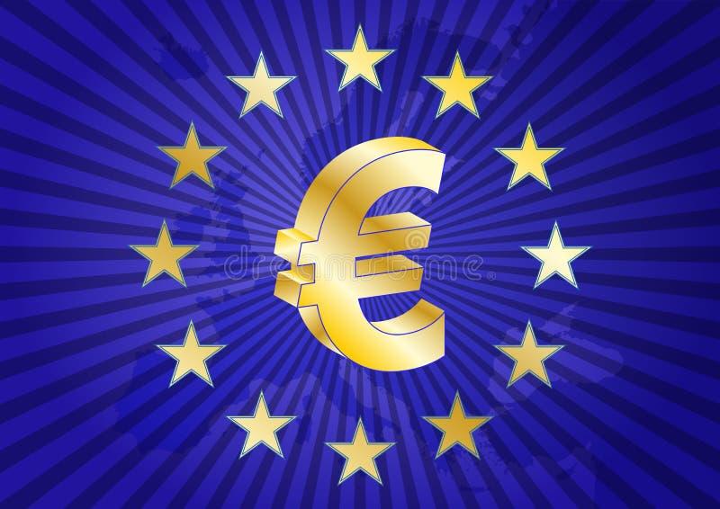 Download Eurozone ilustracja wektor. Obraz złożonej z bank, francja - 31276798