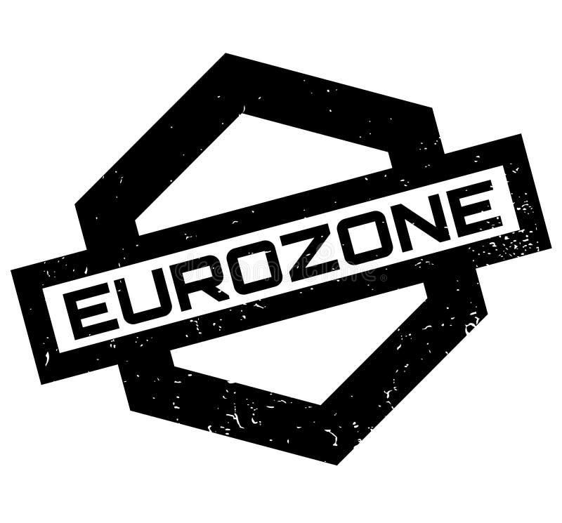 Eurozonestempel lizenzfreie abbildung