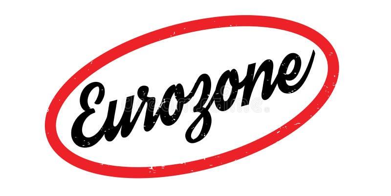 Eurozonestempel vektor abbildung