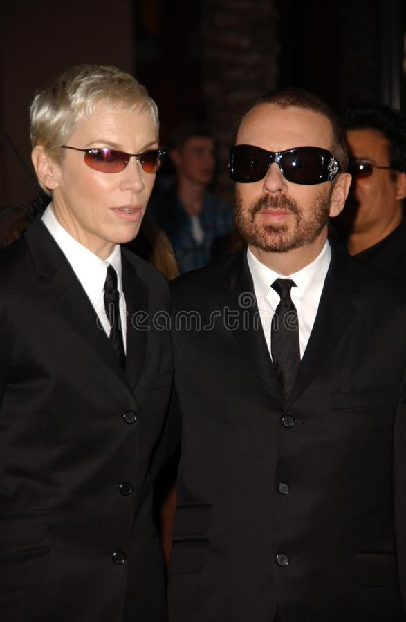 Eurythmics. The Eurythmics at the 33rd Annual American Music Awards. Shrine Auditorium, Los Angeles, CA. 11-22-05 royalty free stock photo