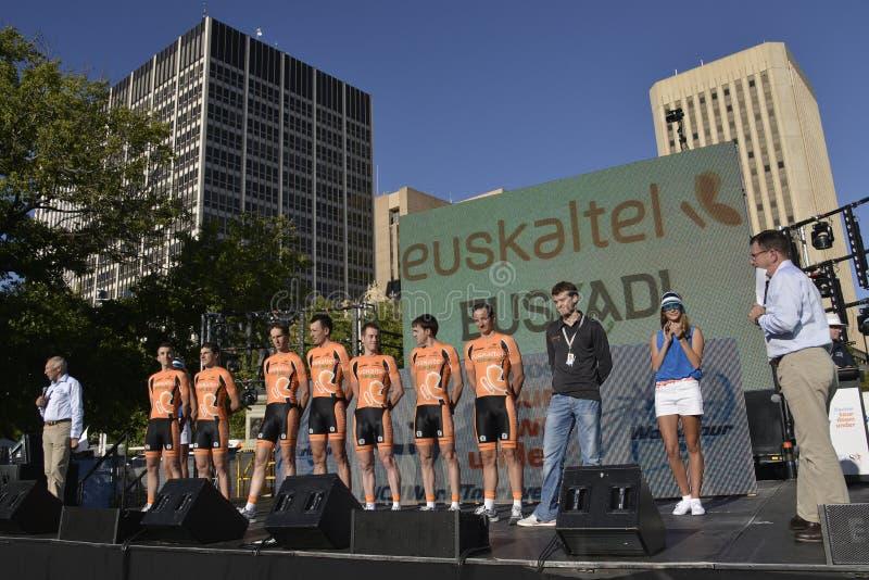 Download Euskaltel Euskadi Professional Cycling Team Editorial Photography - Image: 28732422