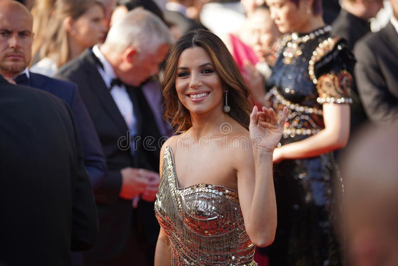 Eva Longoria atende à seleção de imagem de stock royalty free