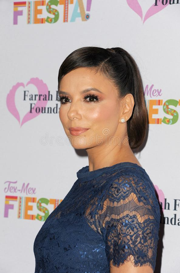Eva Longoria. At the Farrah Fawcett Foundation`s Tex-Mex Fiesta held at the Wallis Annenberg Center in Beverly Hills, USA on September 6, 2019 royalty free stock images