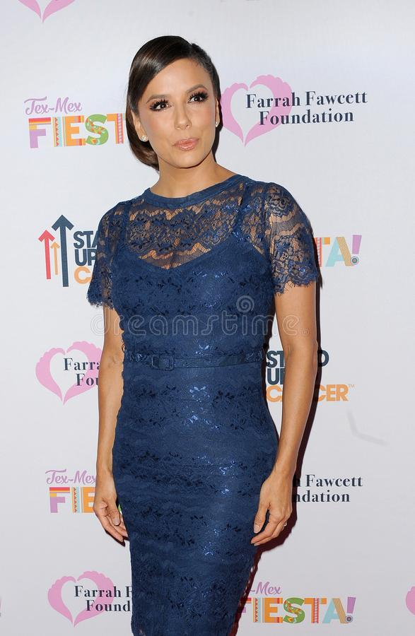 Eva Longoria. At the Farrah Fawcett Foundation`s Tex-Mex Fiesta held at the Wallis Annenberg Center in Beverly Hills, USA on September 6, 2019 stock photography