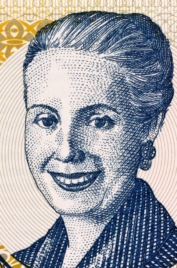 Eva Peron imagens de stock