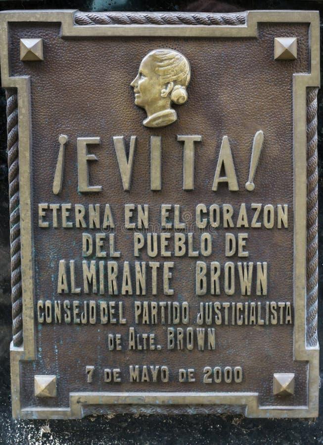 Eva Peron Tomb immagini stock libere da diritti