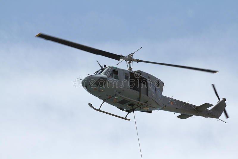 Evacuamento dell'elicottero immagine stock libera da diritti