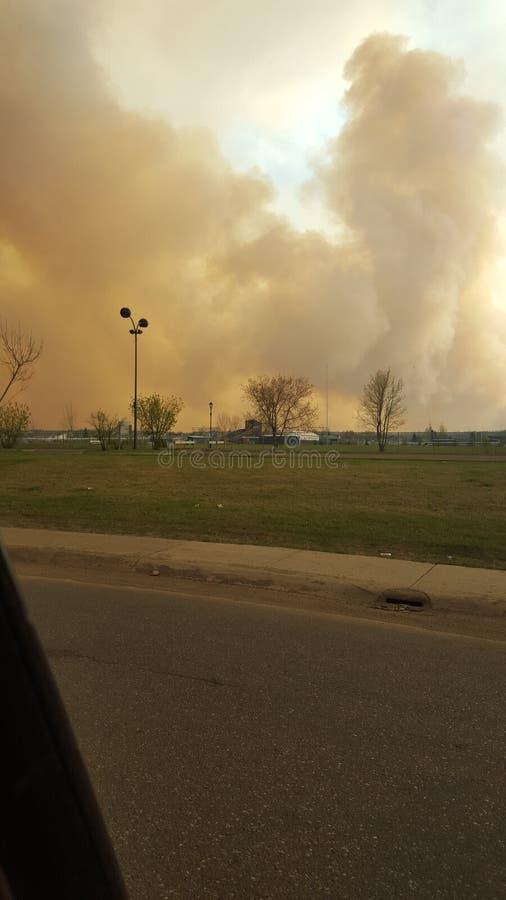 Evacuation Day stock image